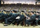 Panoramic photo of CLAS Commencement.