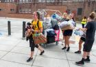 Students move into Mary Louise Petersen Residence Hall