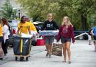 Students move into Burge Hall