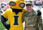 herky with military member