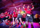 dance marathon volunteers jumping