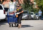 hawkeye family member with move-in cart