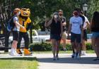 new students with herky