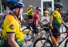 riders converge in town