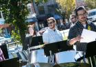 The UI's Pandelirium Steel Drum Band set a festive tone for the College of Liberal Arts & Sciences' We Are Phil celebration on Wednesday, September 30.