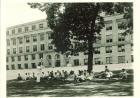 class in front of jessup 1930-40