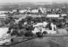 Aerial view of campus in 1925