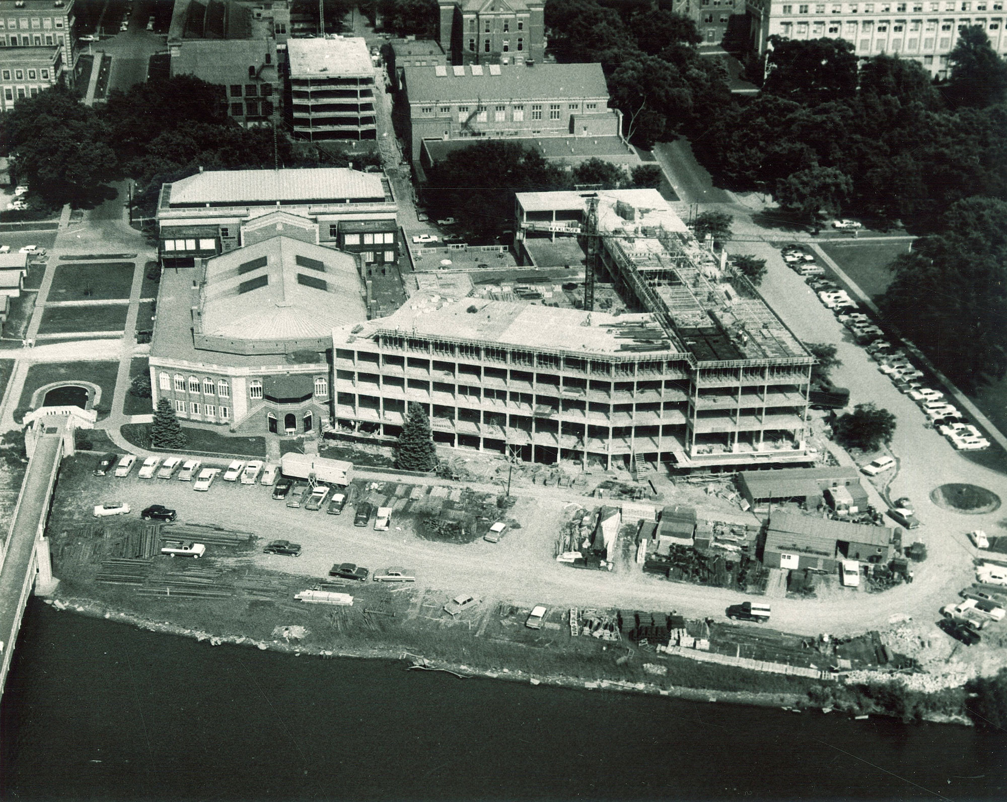 Black-and-white image of IMU construction