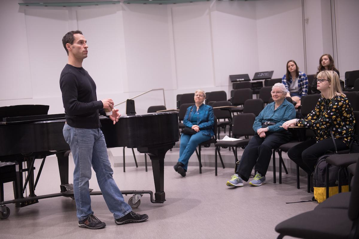 Kyle Ketelsen returns to his alma mater, the University of Iowa, to discuss his opera career