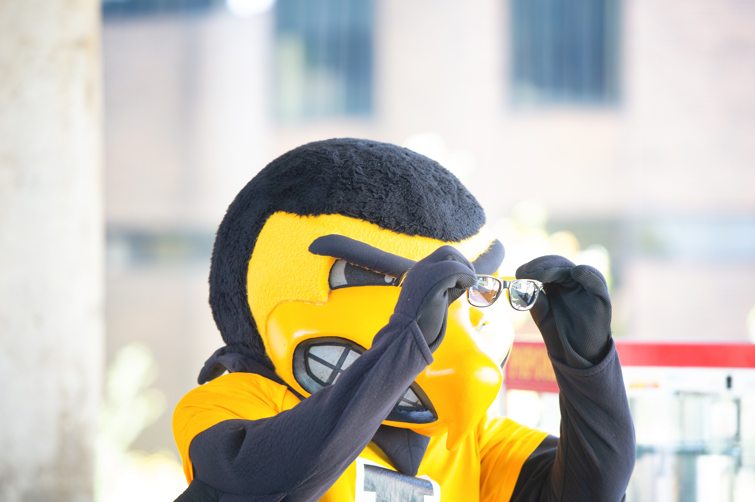 herky with glasses