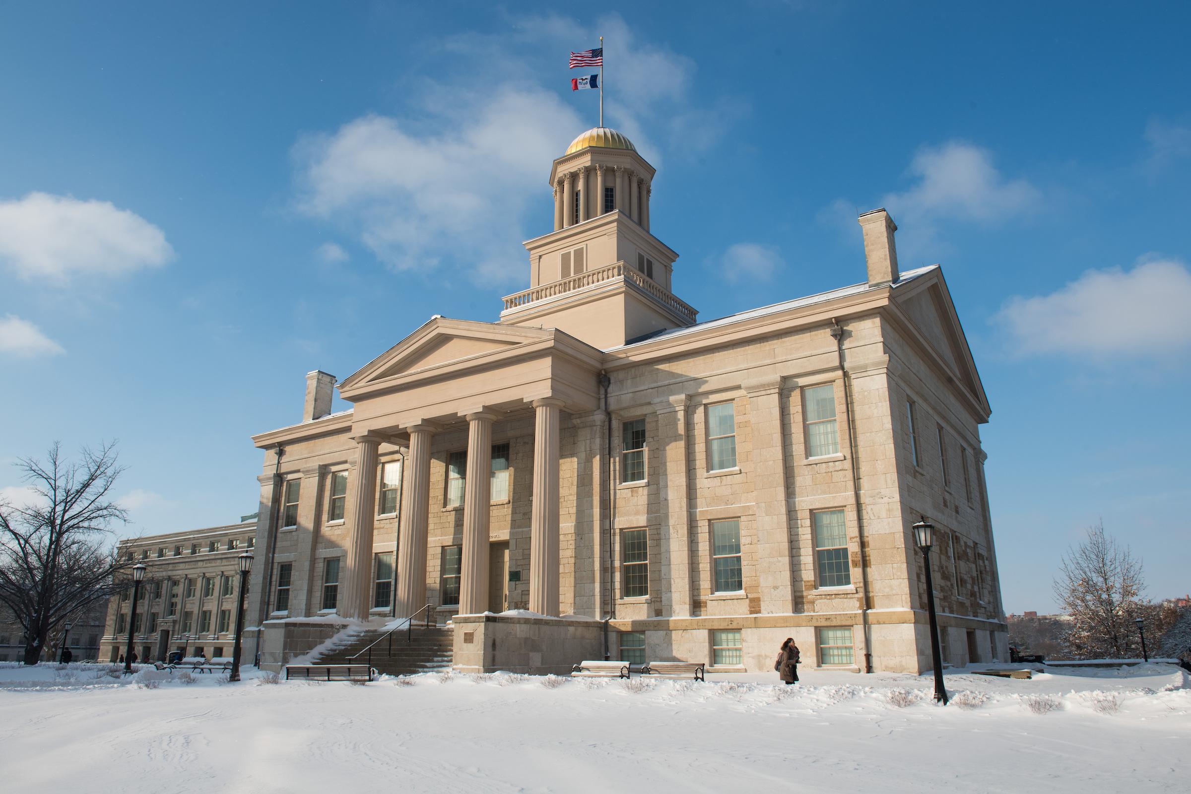 fesh snow old capitol