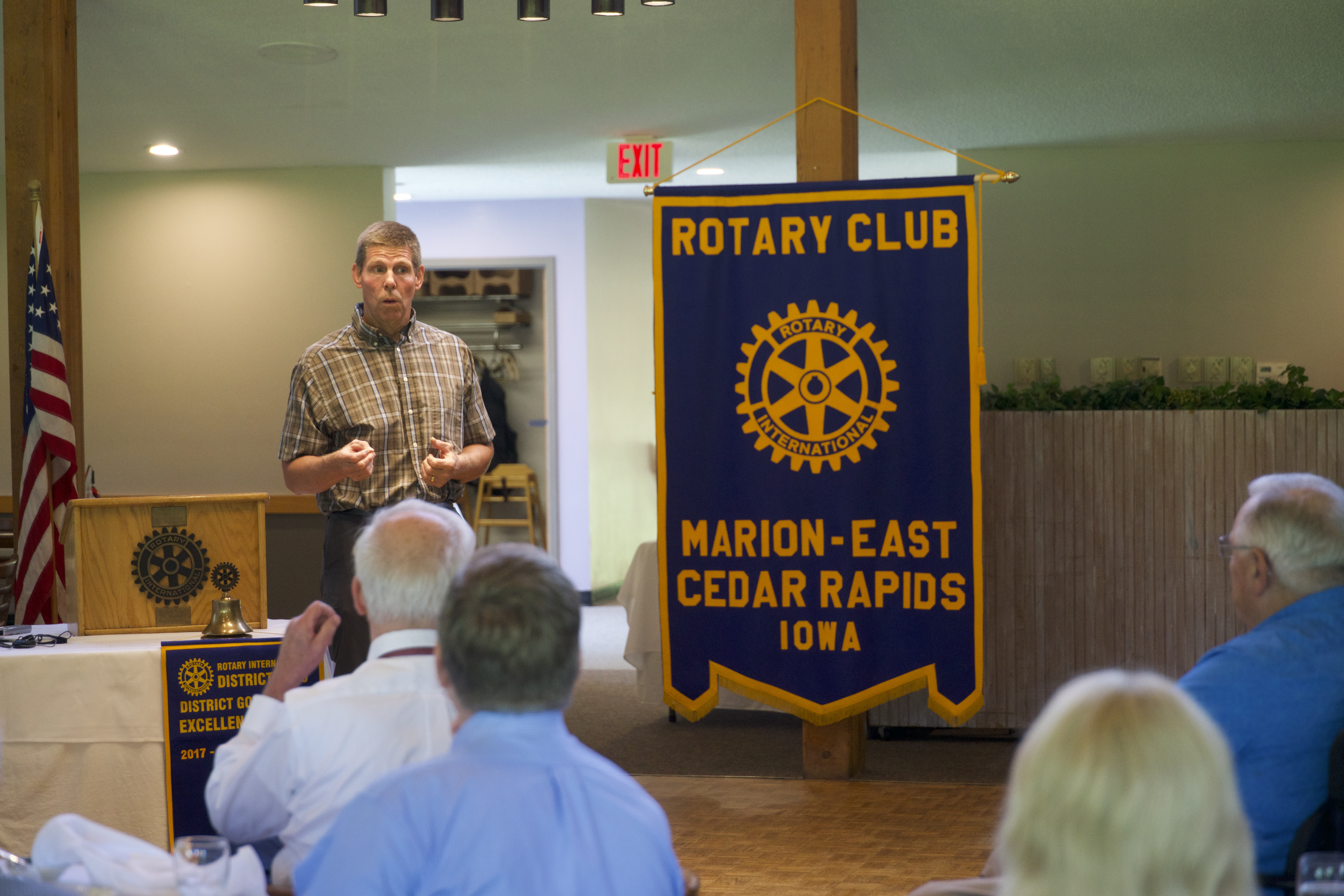 iowa geological survey at rotary meeting