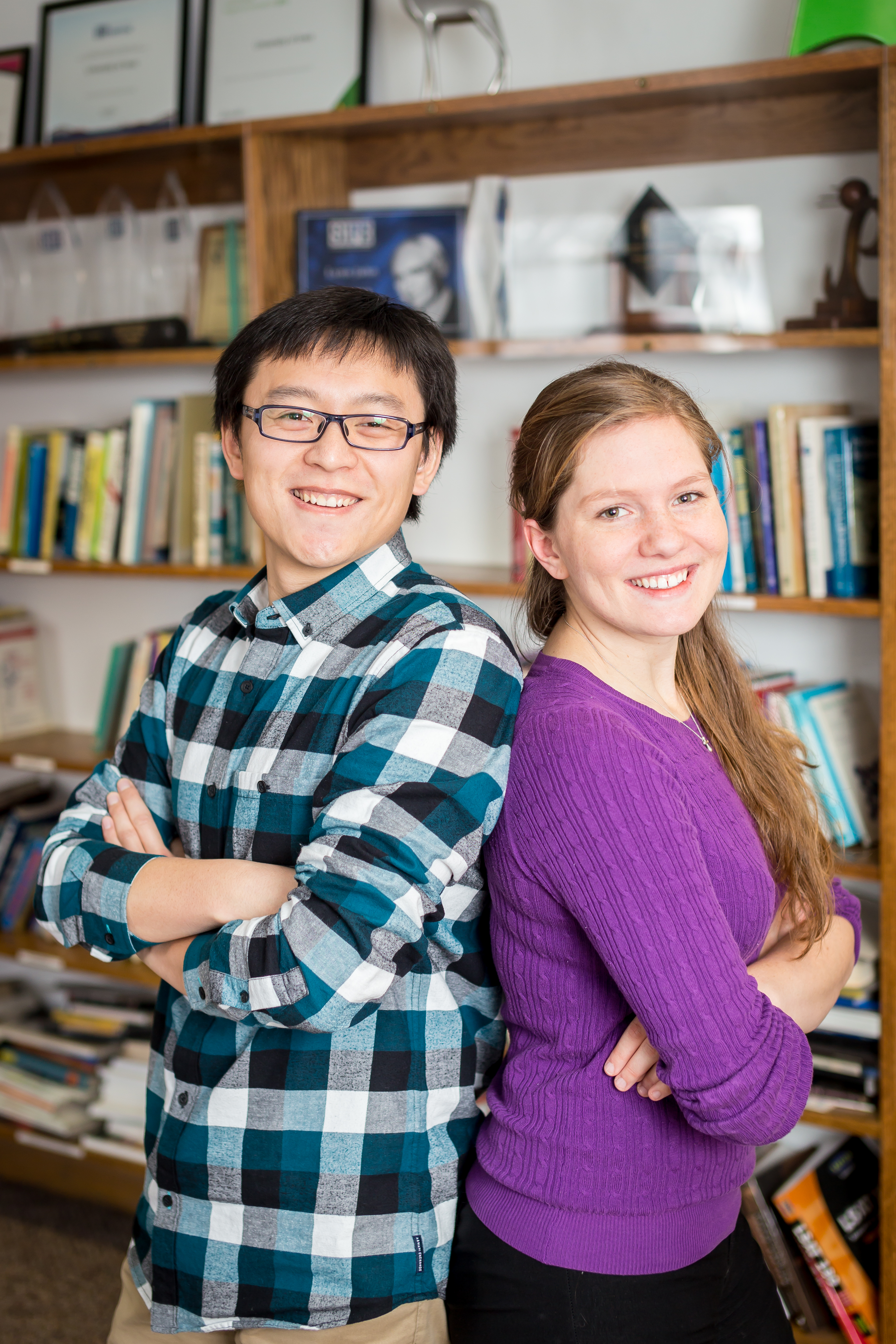 Emily Roberts and Chen Cui