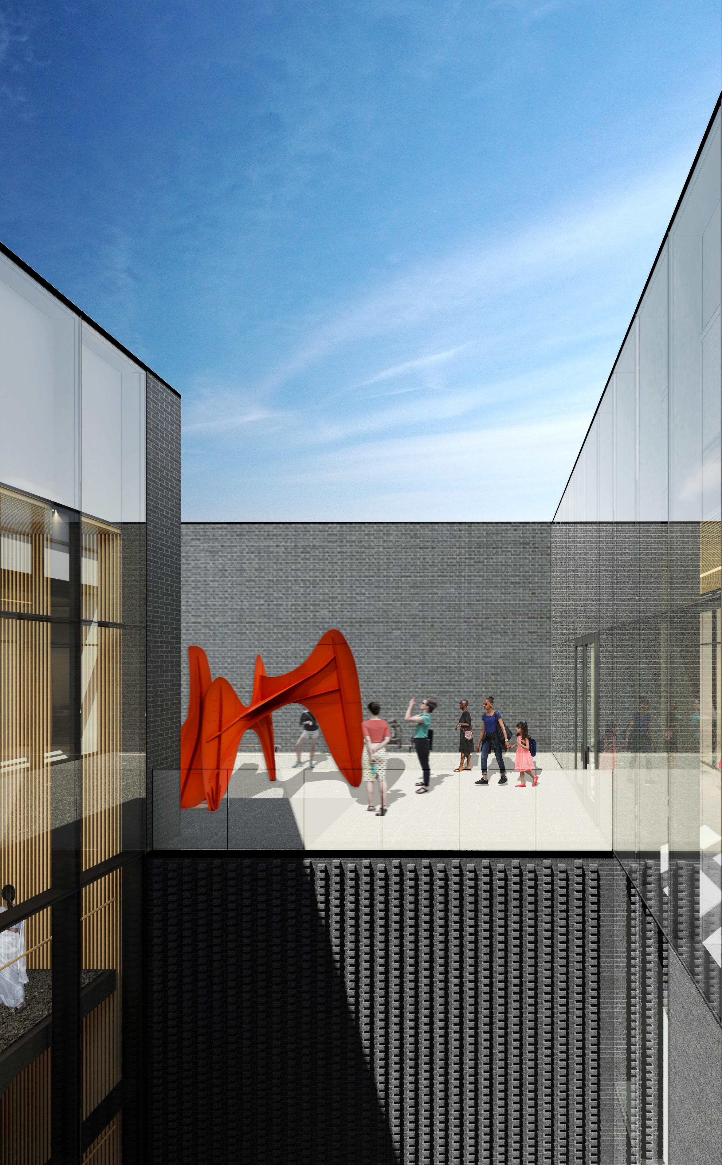 ui stanley museum of art terrace rendering