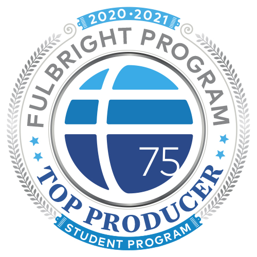 Fulbright Student Producer badge