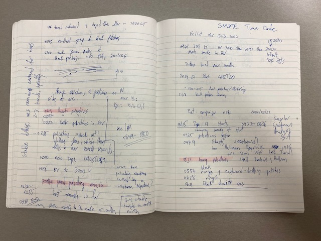 Knudsen research notes