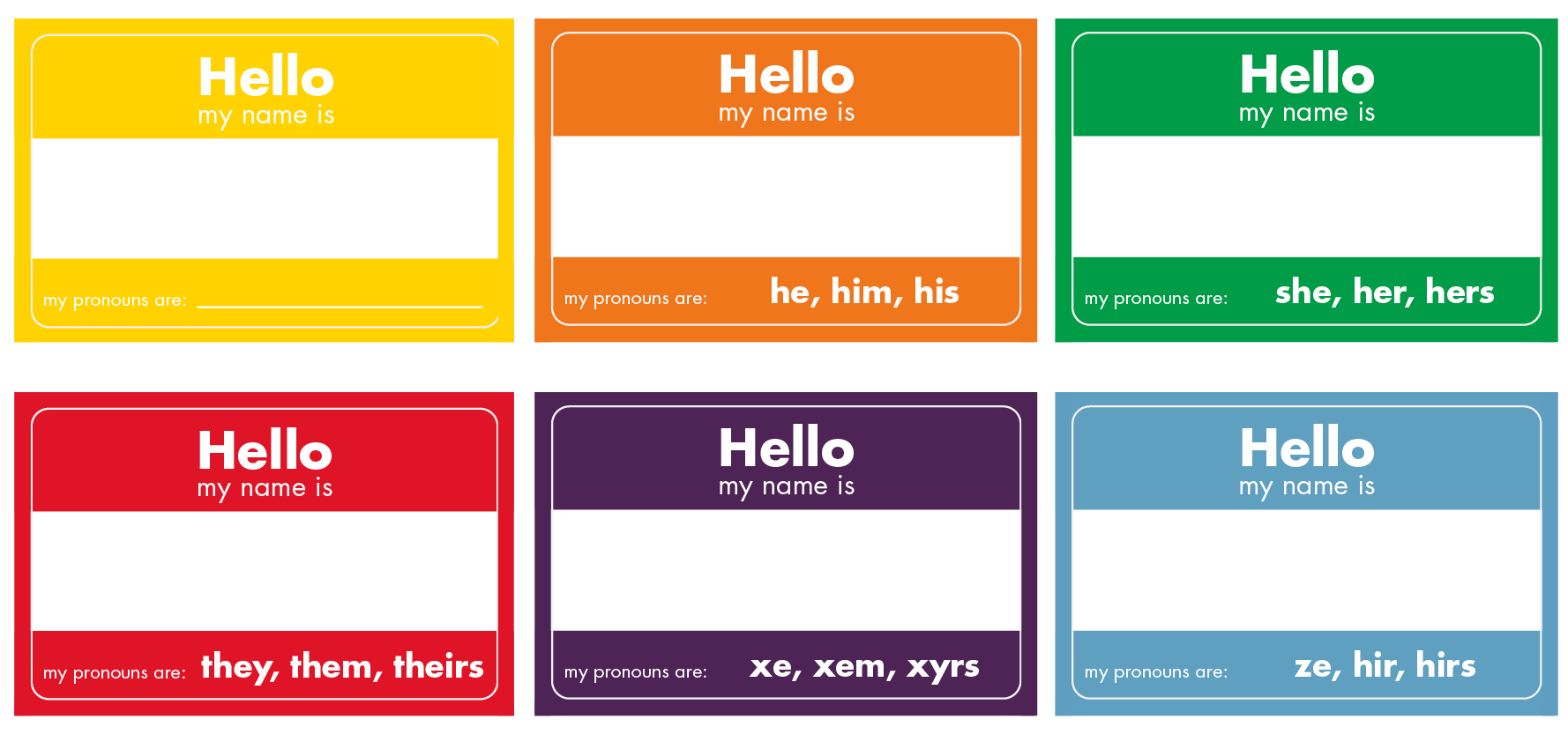 nametag array