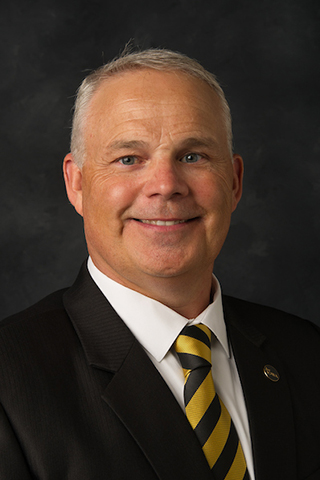 Dan Clay, dean of the University of Iowa College of Education