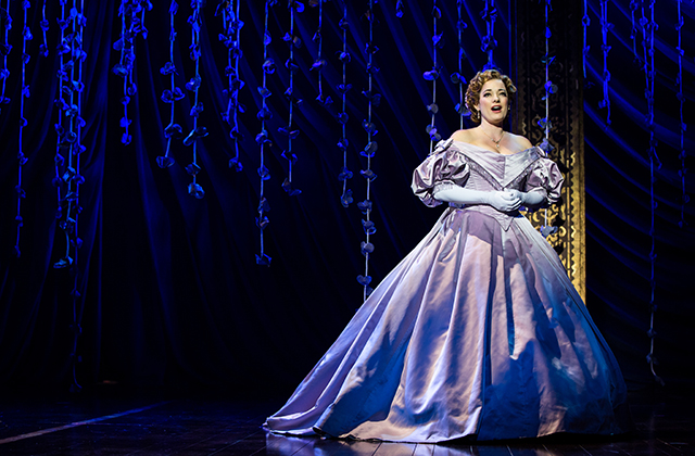 Laura Michelle Kelly as Anna in The King and I