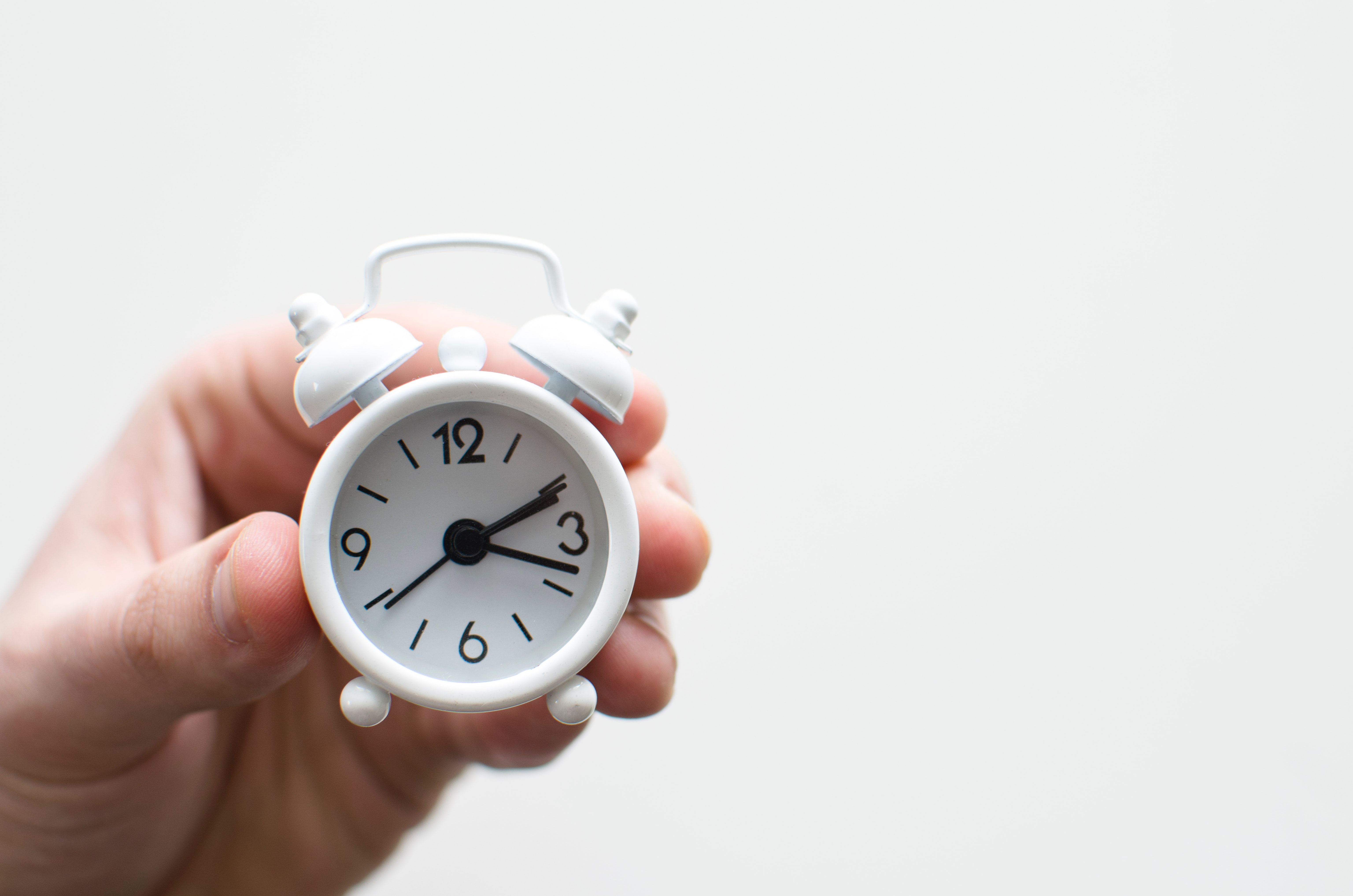 miniature alarm clock